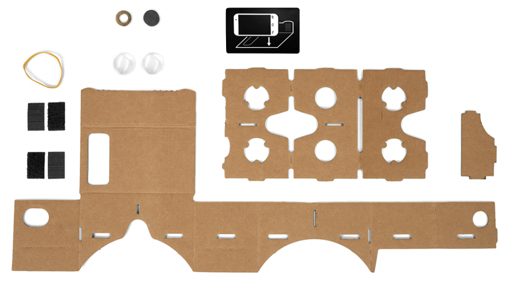 Cardboard with Google