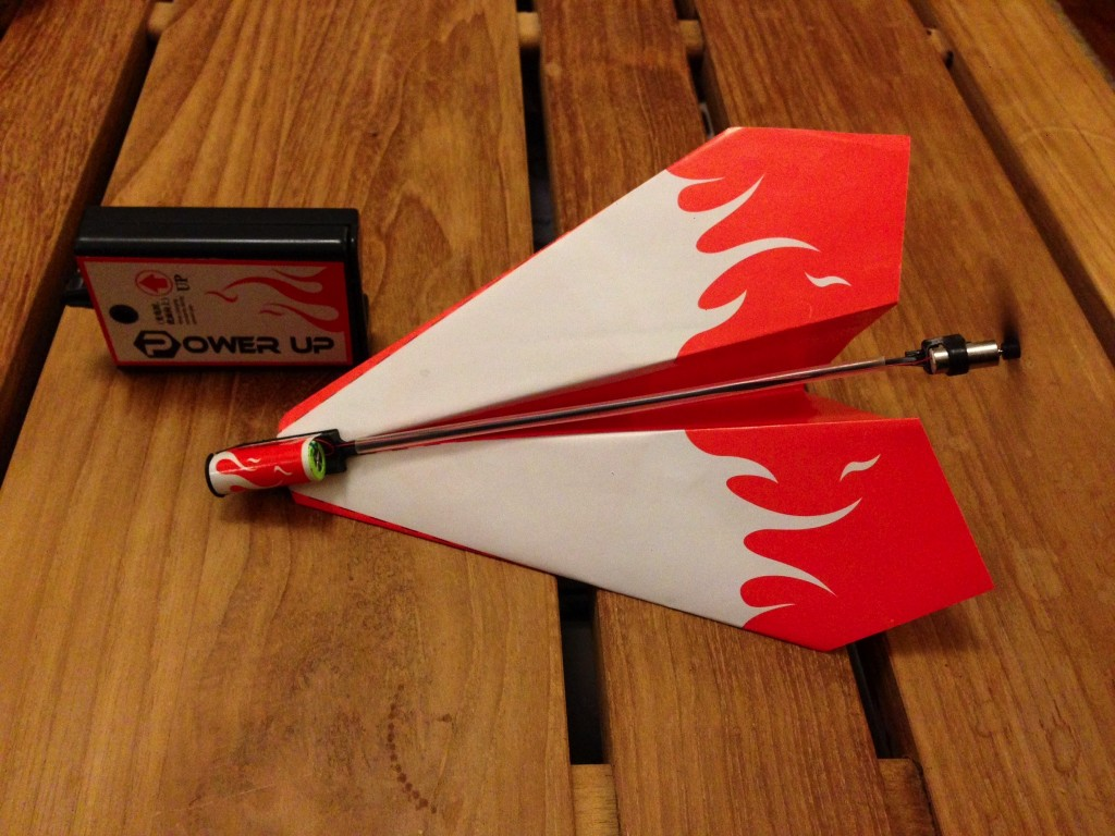 paper power airplane complete