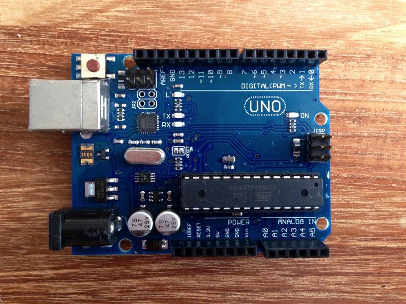 Goedkope arduino ultrasoon afstandsmeter