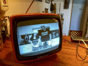 Raspberry Pi driven TV with a Youtube video